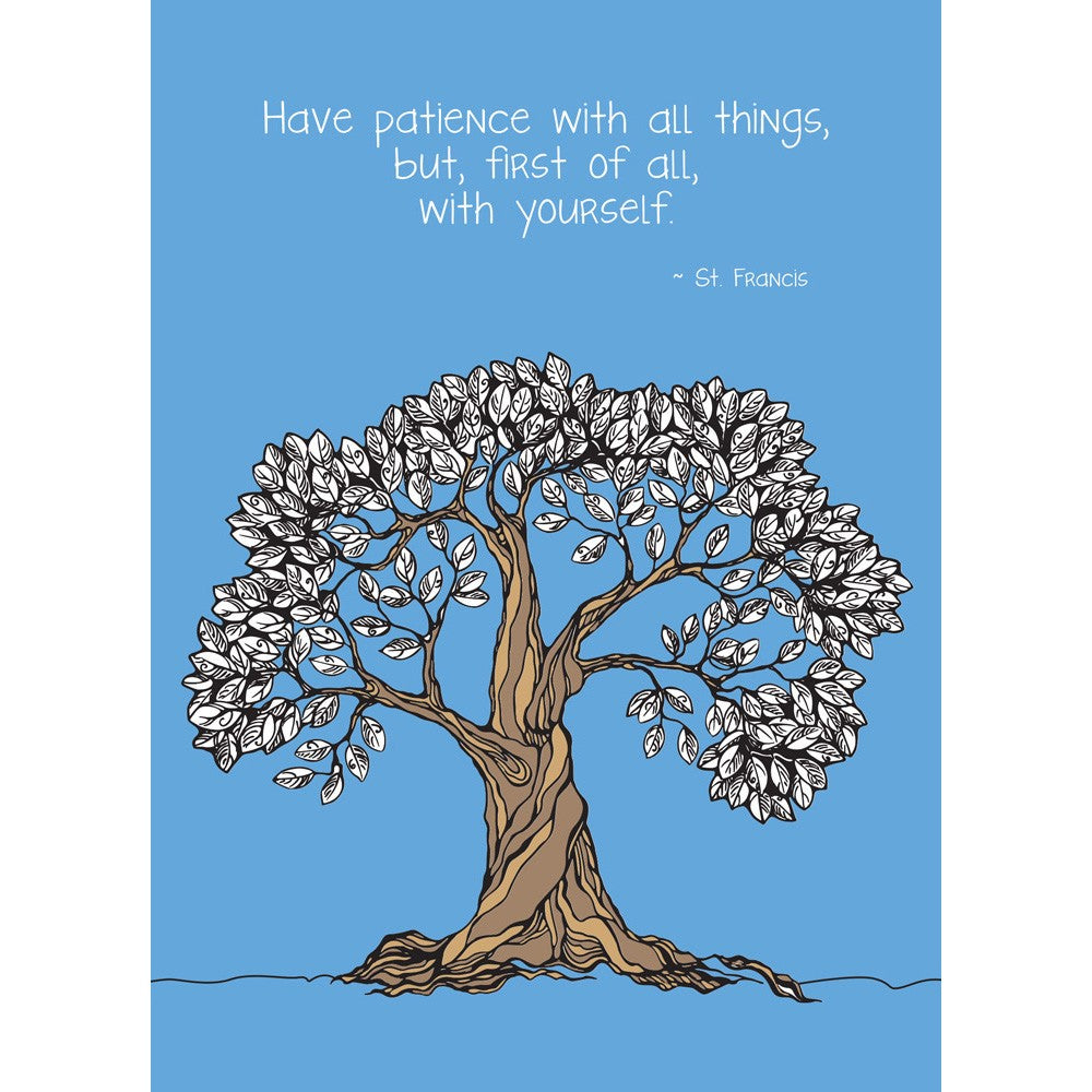 Patience Encouragement Greeting Card