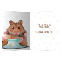 Load image into Gallery viewer, Got Diapers New Baby Greeting Card