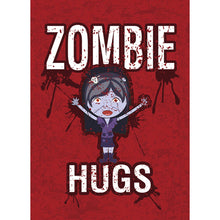 Load image into Gallery viewer, Zombie Hugs Halloween Greeting Card
