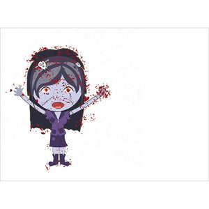 Zombie Hugs Halloween Greeting Card