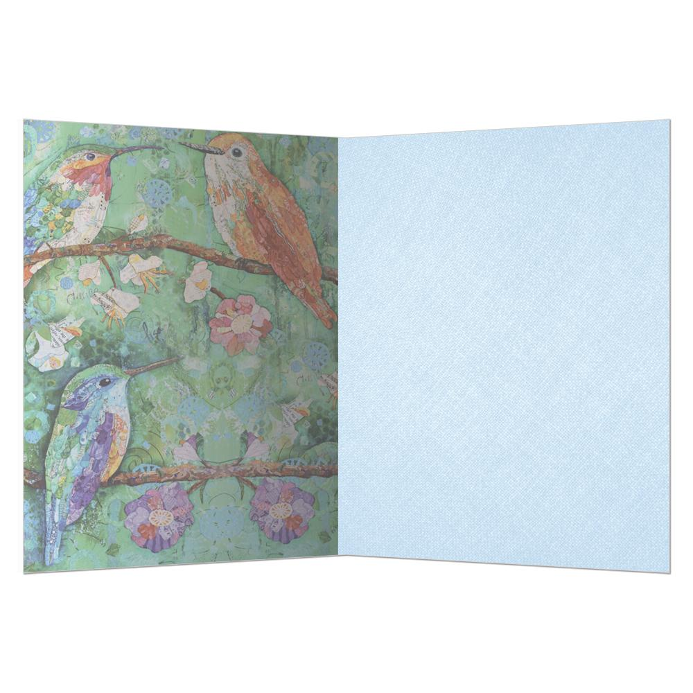 Hummingbird Congratulations Graduation Greeting Card