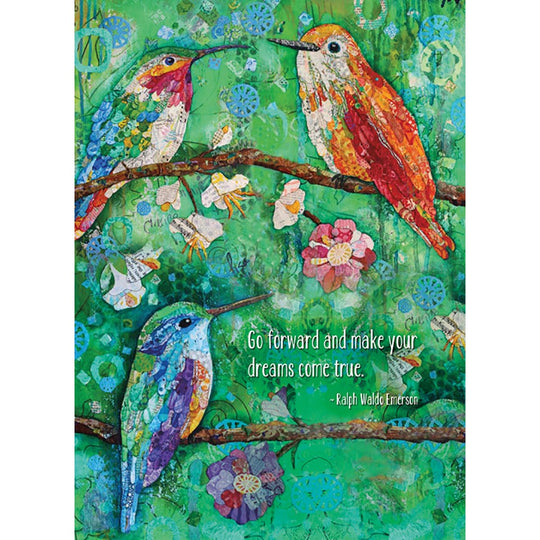 Hummingbird Congratulations 4 Pack Graduation Greeting Card