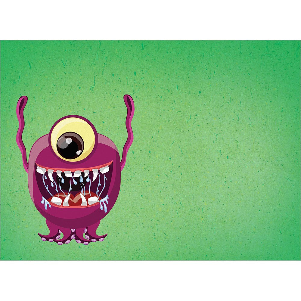 Monstrously Awesome Graduation Greeting Card