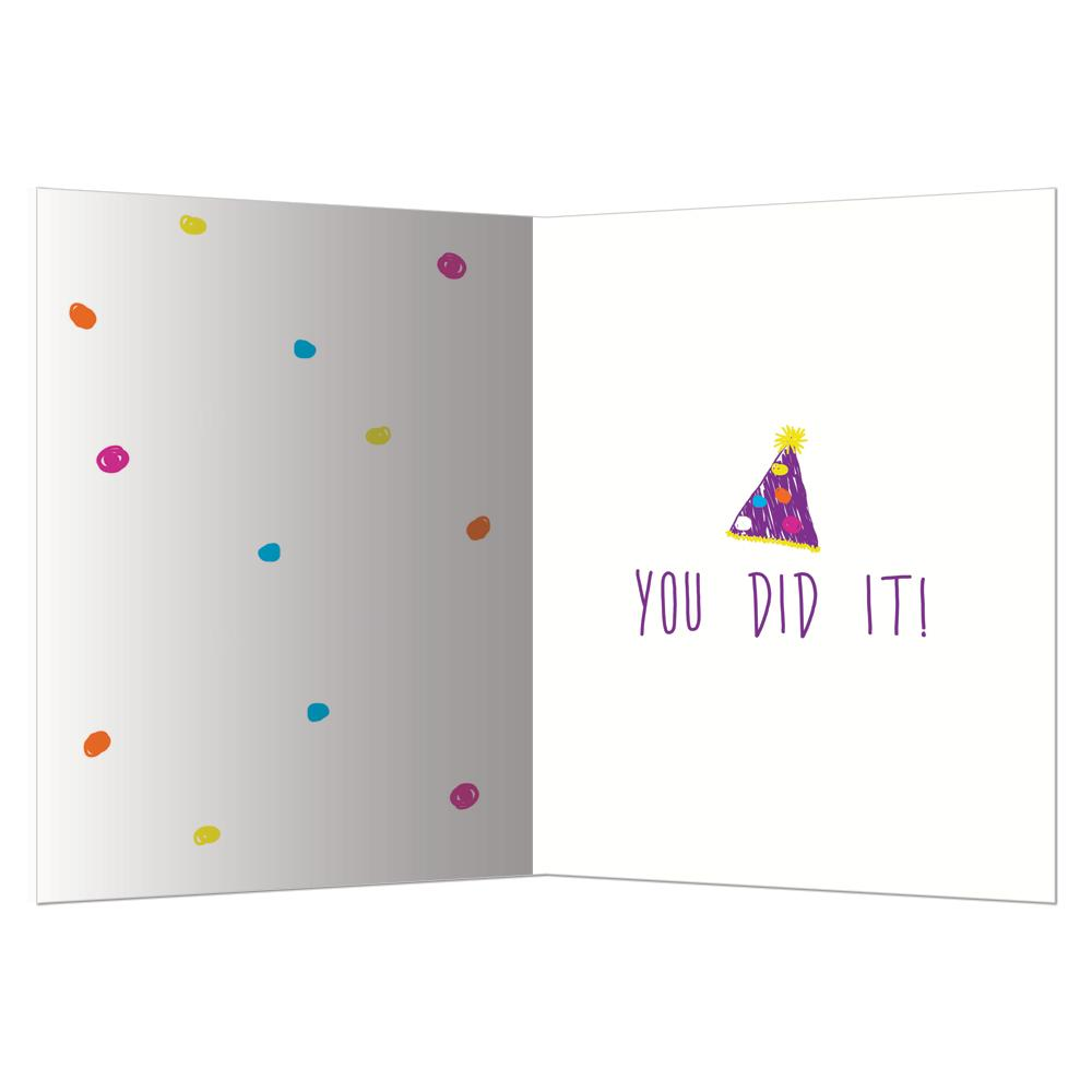 Doggone Congrats Graduation Greeting Card