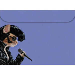 Elvis Cat All Occasion Greeting Card