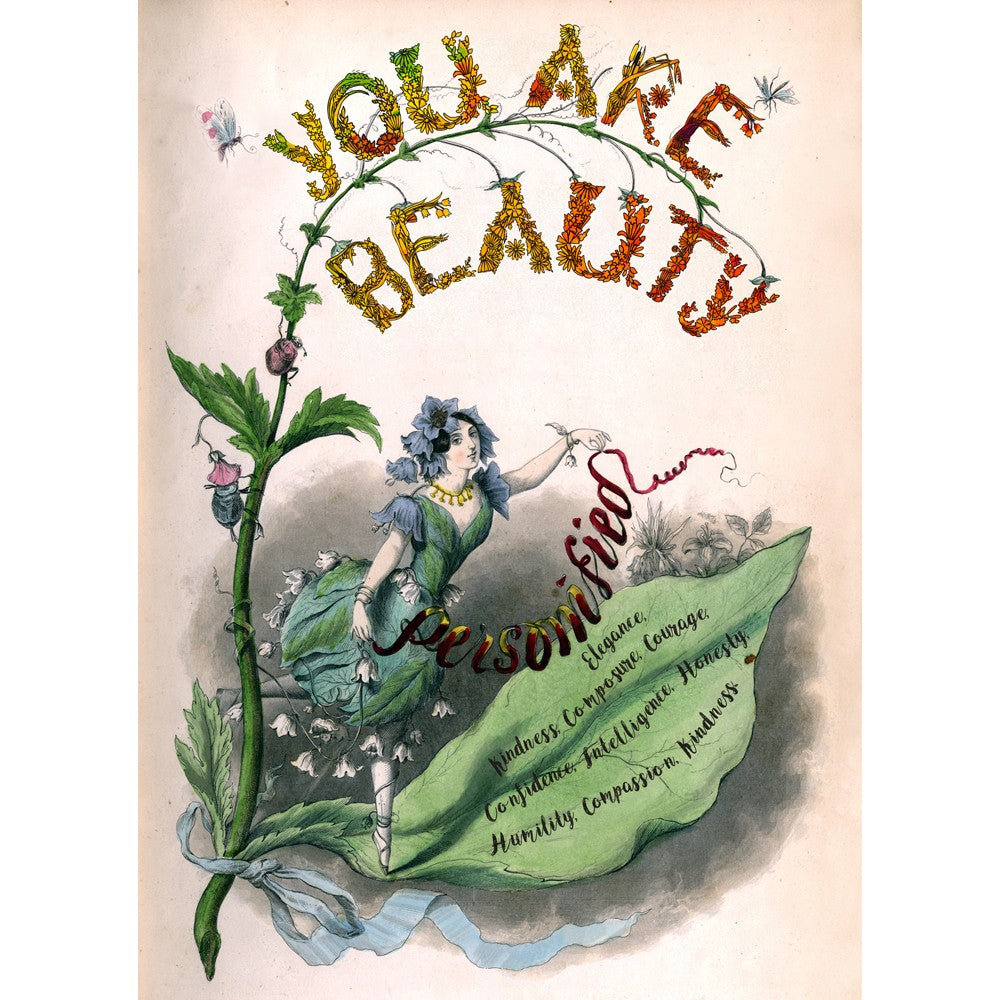 You Are Beauty All Occasion Greeting Card