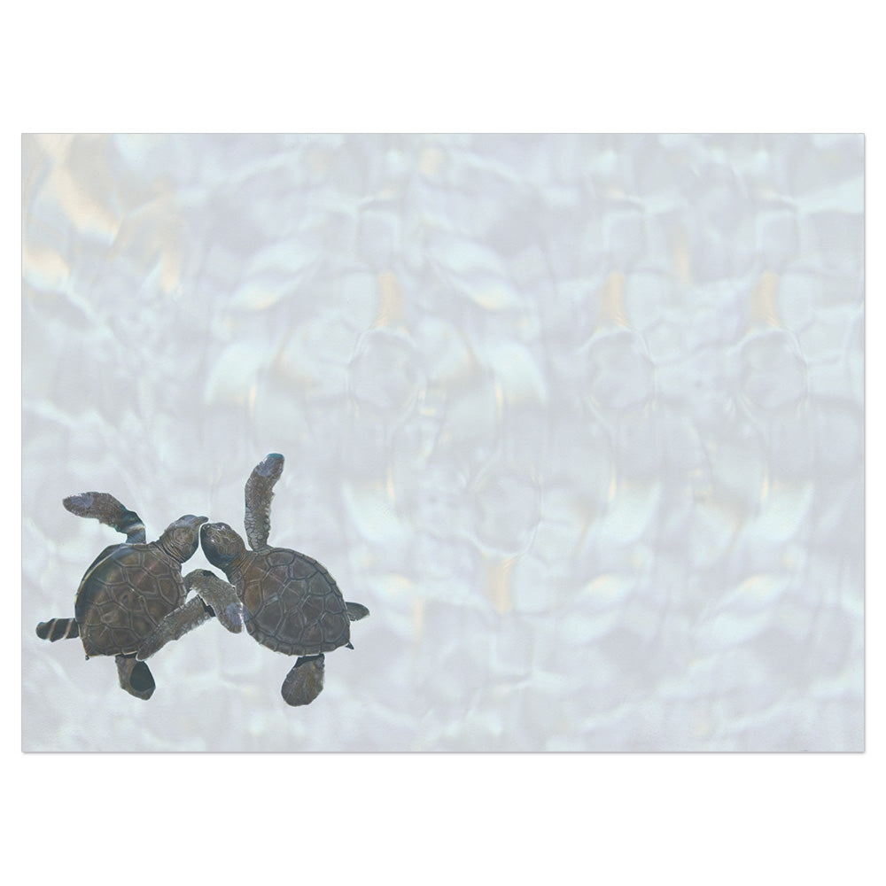 Sea Turtle Pals Friendship Greeting Card