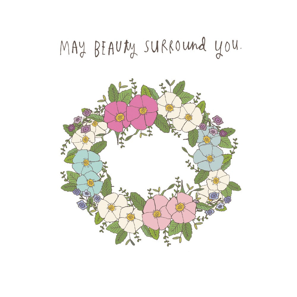 Beauty Surround All Occasion Greeting Card