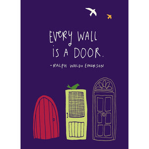 Every Wall Encouragement Greeting Card