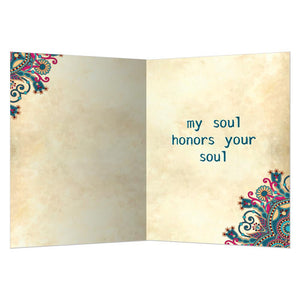 Namaste All Occasion Greeting Card