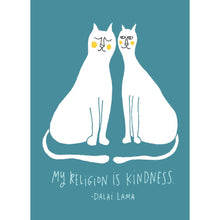 Load image into Gallery viewer, Kindness Cats Thank You Greeting Card