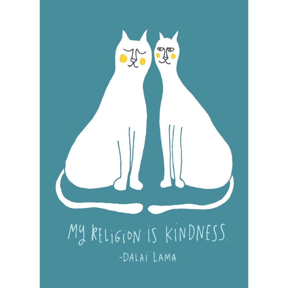 Kindness Cats Thank You Greeting Card