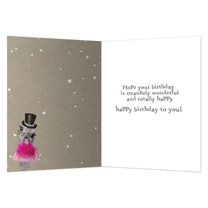 Bird Brained Birthday Birthday Greeting Card