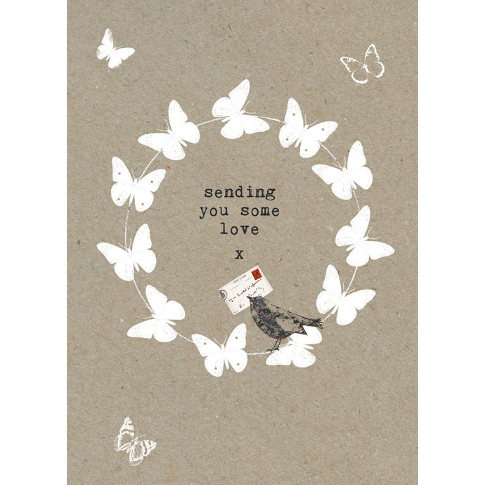 Sending Love Support Greeting Card