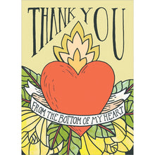 Load image into Gallery viewer, Thank You Heart Thank You Greeting Card