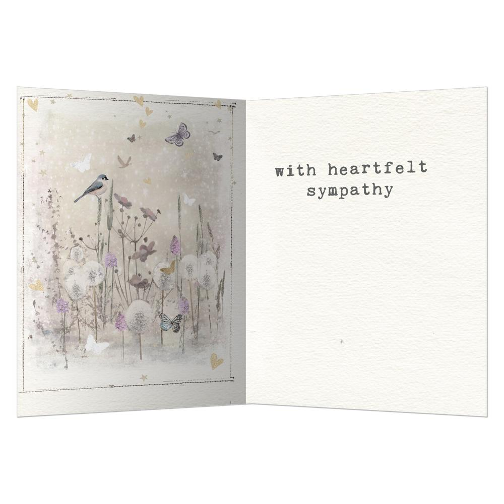Just A Thought Away Sympathy Greeting Card