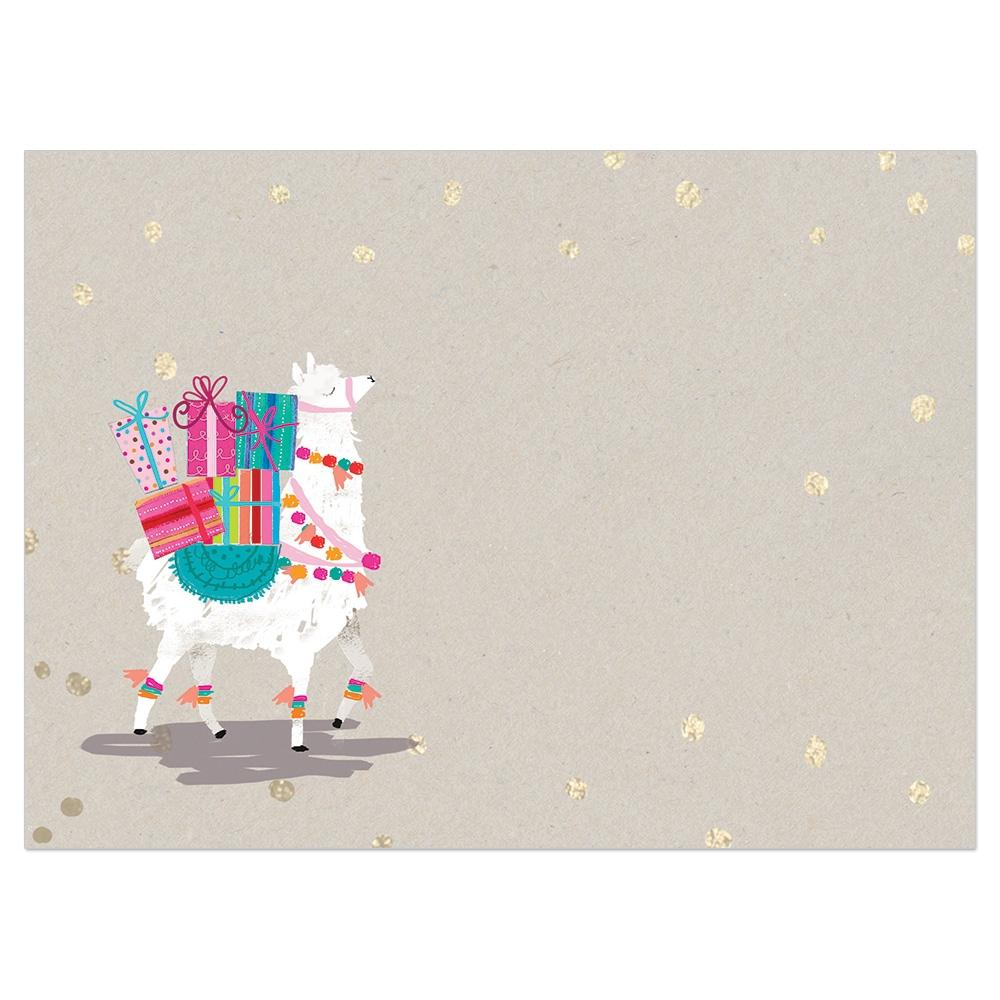 Shama Llama Birthday Greeting Card