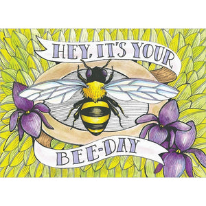 Bee-Day Birthday Greeting Card