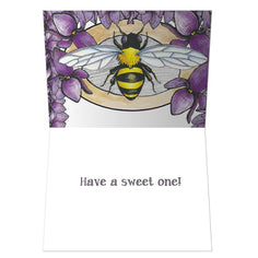 Load image into Gallery viewer, Bee-Day Birthday Greeting Card
