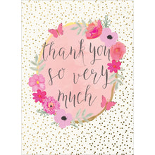 Load image into Gallery viewer, Boho Thank You Thank You Greeting Card
