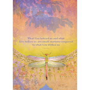 What Lies Behind All Occasion Greeting Card