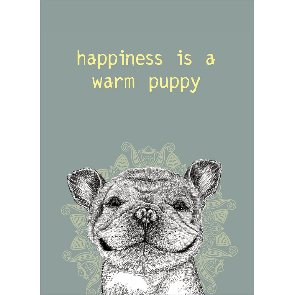 Warm Puppy All Occasion Greeting Card