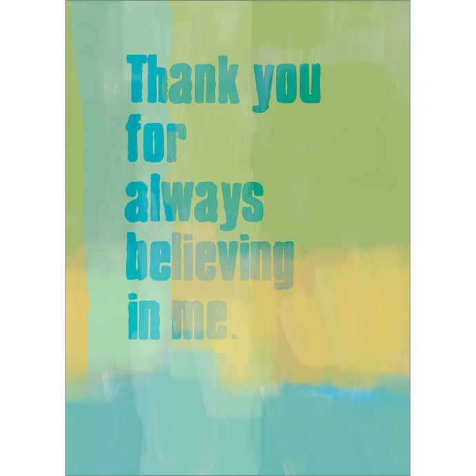 Always Believing Father's Day Greeting Card