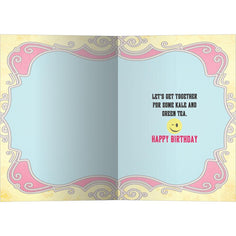 Load image into Gallery viewer, Wink Emoji Birthday Birthday Greeting Card