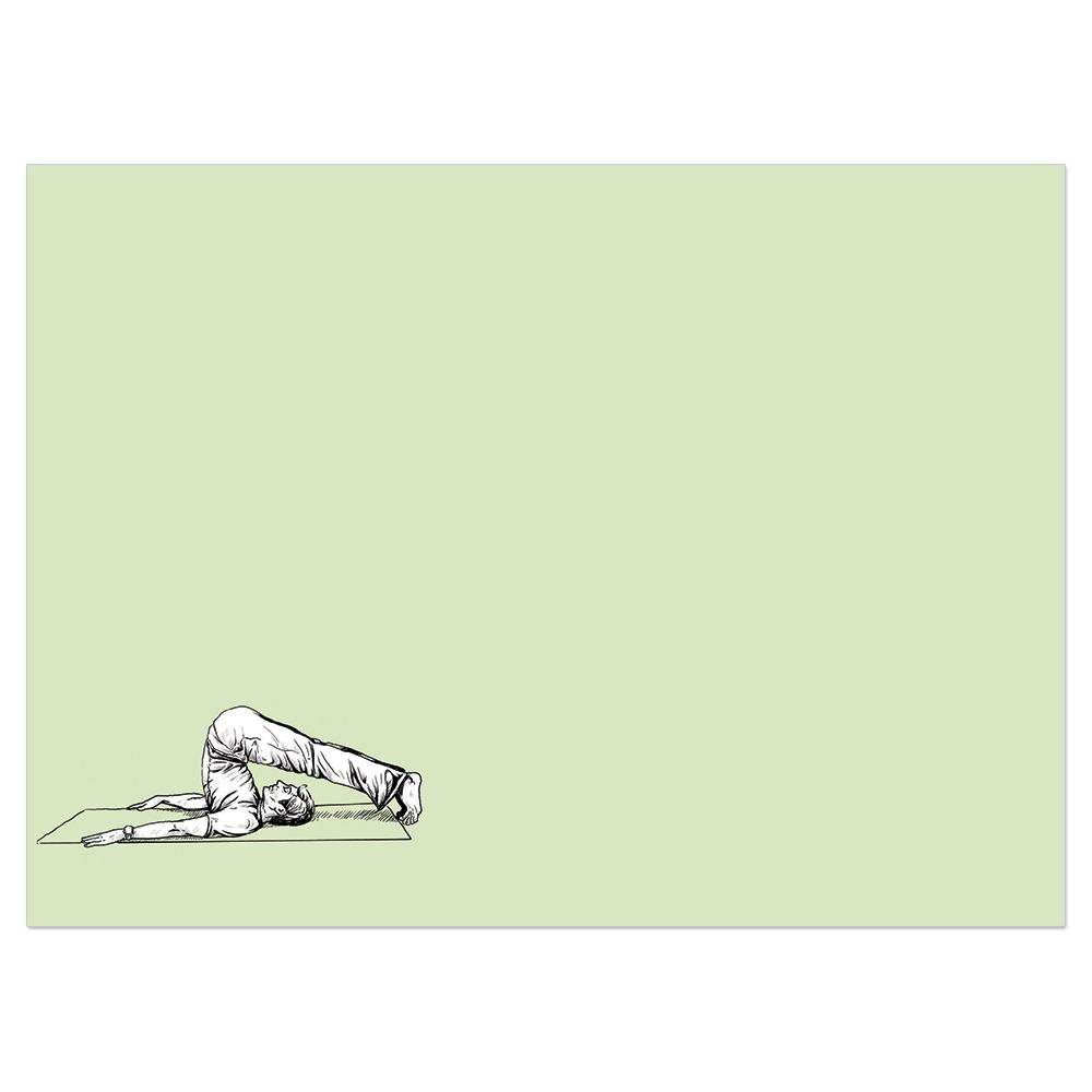 Yoga Or Vodka Birthday Greeting Card