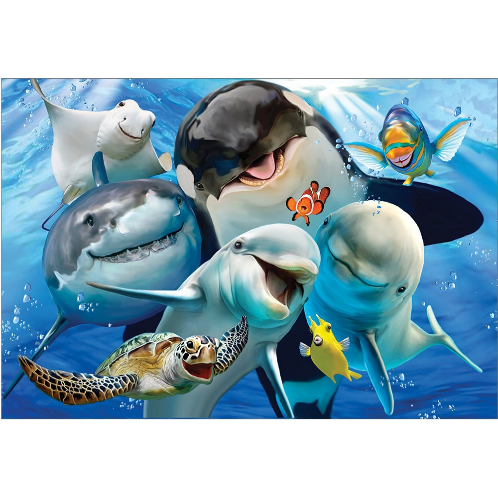 Ocean Selfie All Occasion Greeting Card