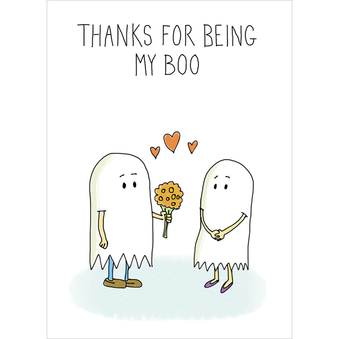 Being My Boo Halloween Greeting Card