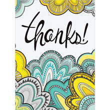 Load image into Gallery viewer, Doodle Thanks Thank You Greeting Card