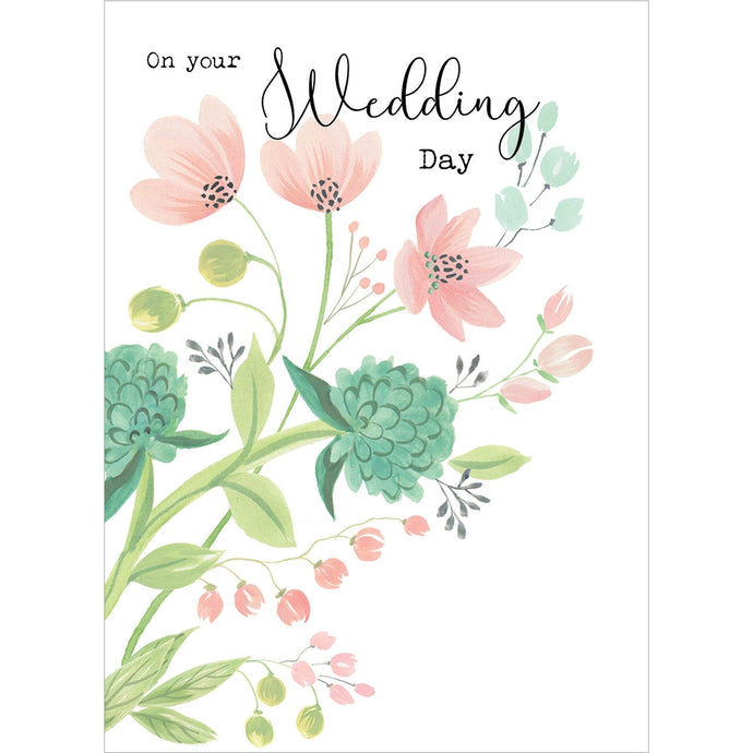 Happy Time Wedding Greeting Card