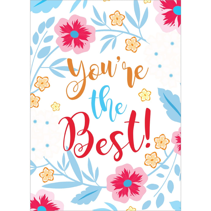 Best Thanks Thank You Greeting Card