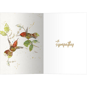 Graced Sympathy Greeting Card