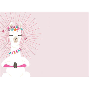 Llamaste All Day Birthday Greeting Card