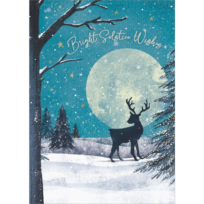 Solstice Wishes Solstice Greeting Card