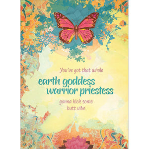 Earth Goddess All Occasion Greeting Card