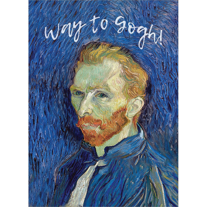 Way To Gogh Congratulations Greeting Card