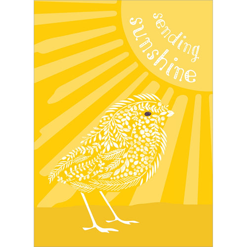 Sunshine Season Easter Greeting Card