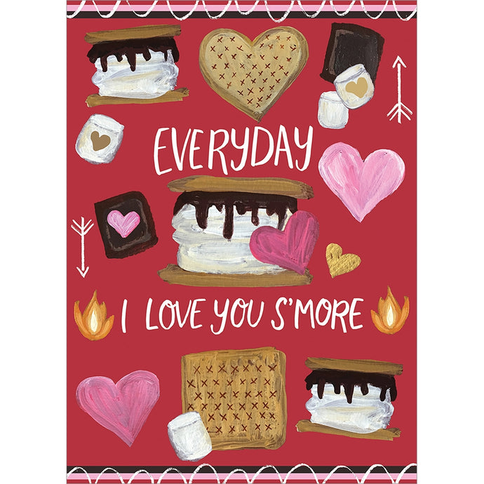 Smore Love Valentine's Day Greeting Card