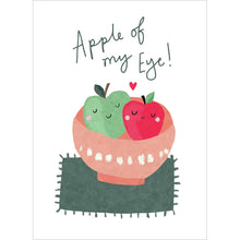 Load image into Gallery viewer, Apples Of My Eye Valentine's Day Greeting Card