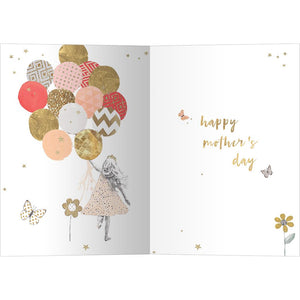 Mothers Day Balloons Mother's Day Greeting Card