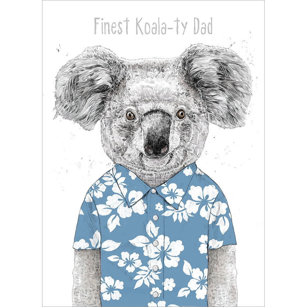 Koalaty Dad Father's Day Greeting Card