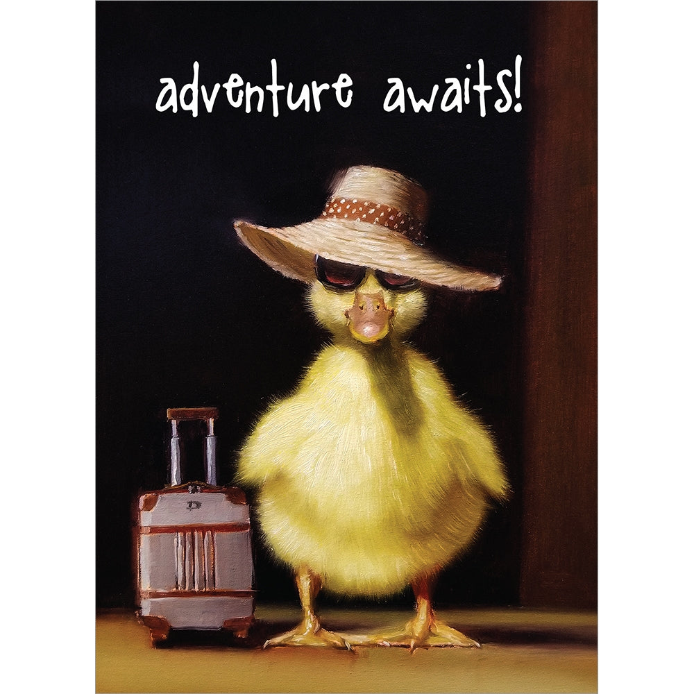 Adventure Awaits Retirement Greeting Card