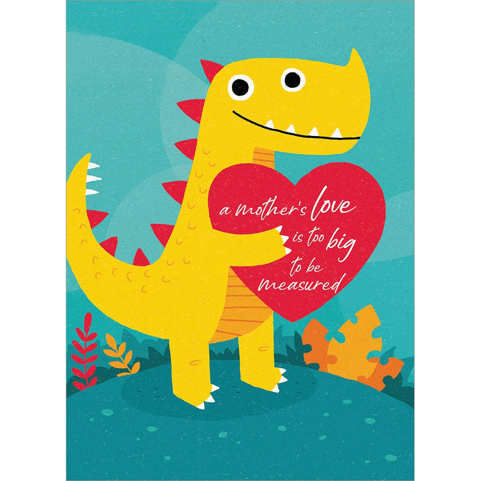 Dino Mom Mother's Day Greeting Card