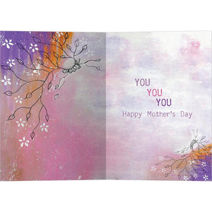 You You You Mother's Day Greeting Card