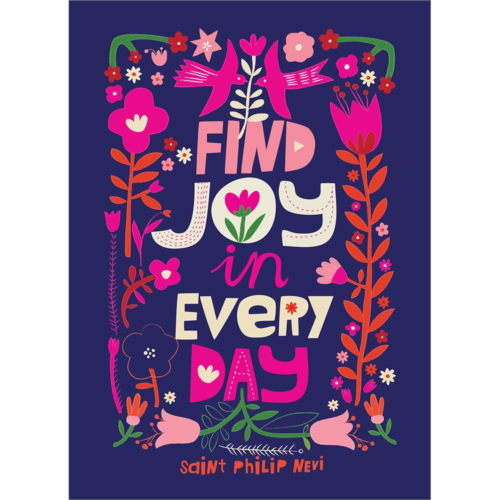 Find Joy Flowers All Occasion Greeting Card