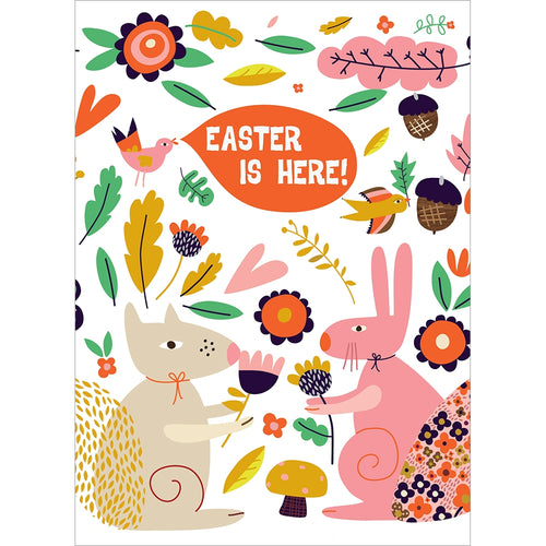 Easter Is Here Easter Greeting Card
