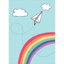 Load image into Gallery viewer, Paper Airplane Graduation Greeting Card